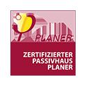 Logo Zertifizierter Passivhaus Planer