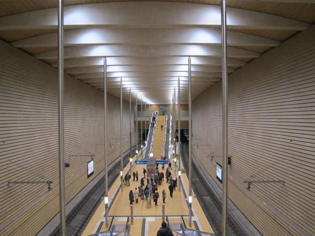 City-Tunnel Leipzig, Markt