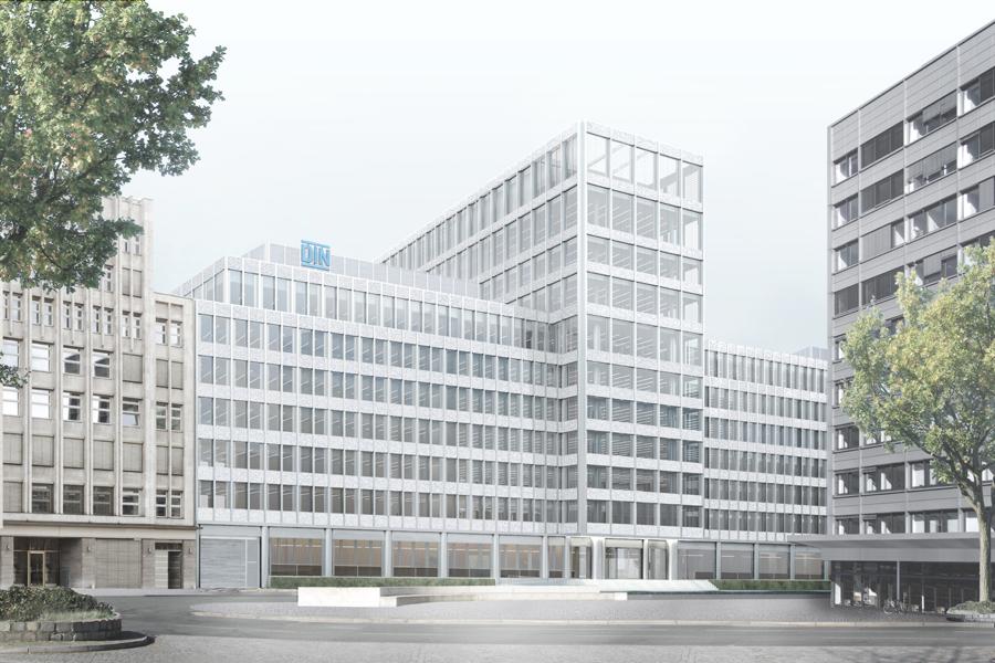 Bürogebäude DIN, Berlin