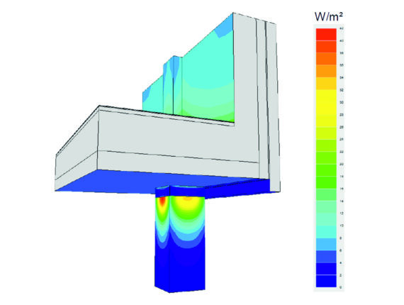 3-dimensionale Wärmebrückensimulation