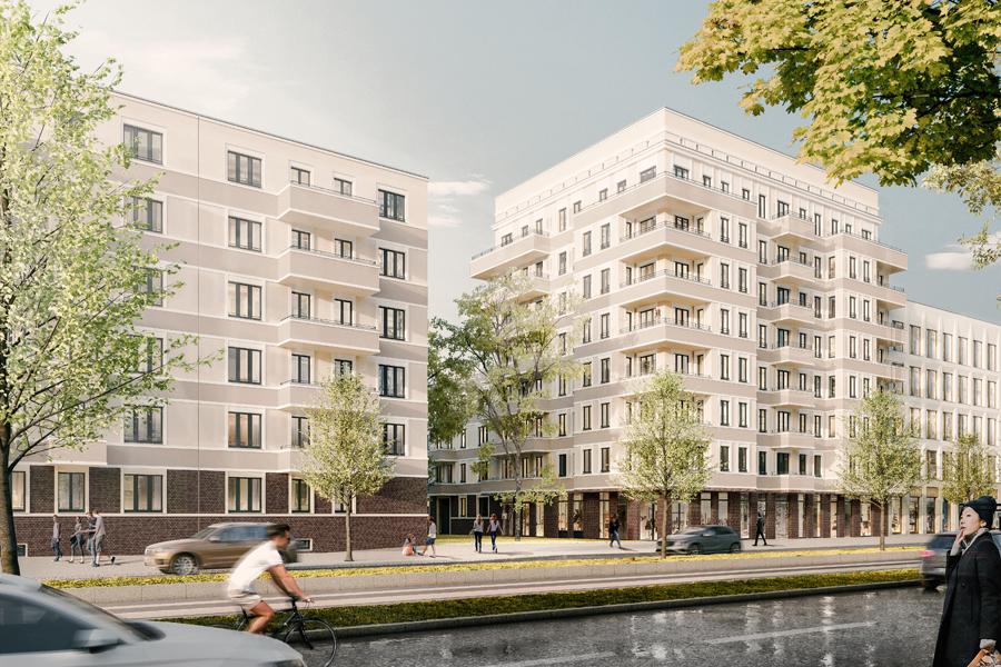 Prager Straße, Leipzig