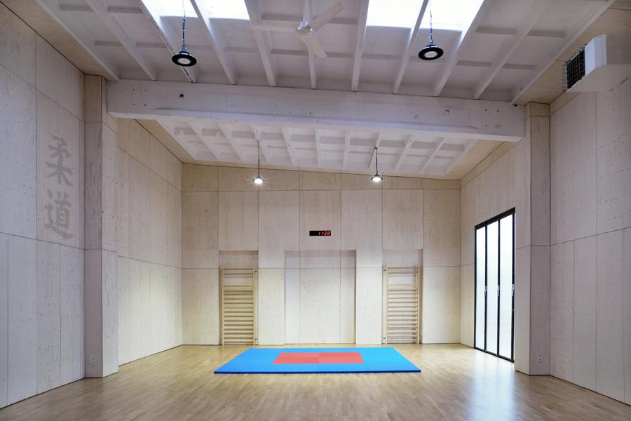 Judohalle, Holzhausen