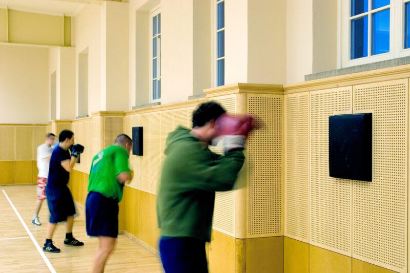 Boxhalle, Universität Leipzig