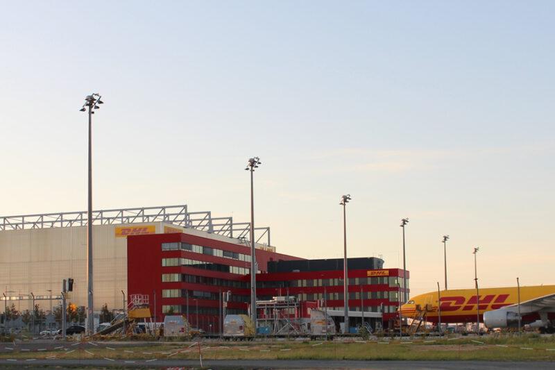 DHL Hub Leipzig, Schkeuditz
