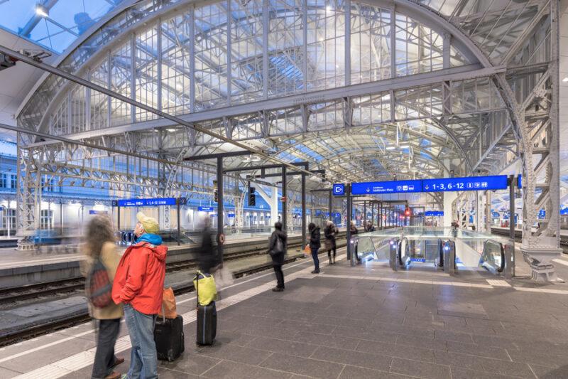 Hauptbahnhof. Salzburg
