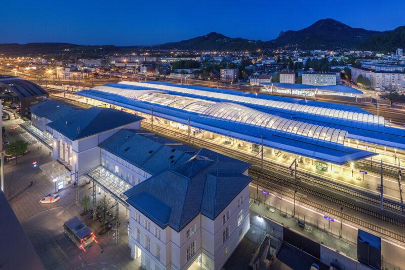 Hauptbahnhof, Salzburg