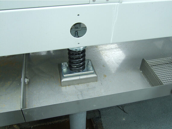Schwingungsisolierung eines Aggregats